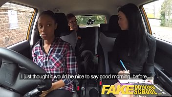Anger management for women with a sex drive Fake driving school busty black girl fails test with lesbian examiner