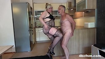 Pissed BBW and Daughter Ballbusting Old Perv pornhub video