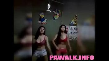 2 Cute Pinay Pawalk Almost Naked Sexy Dance - www.pawalk.info