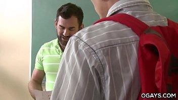 Hairy Teacher Fucks His Gay Student