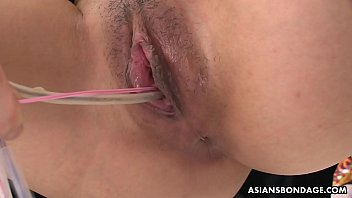 The bdsm store - Kaori kawada pays for the groceries with trimmed pussy