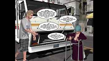 3D Comic: The Uncanny Valley 1-2