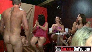 05 Slutty girls sucking cock at sex party47