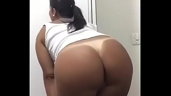 Latina Slut showing off pussy and ass