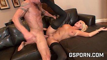 Sexy blonde big boobs hardcore