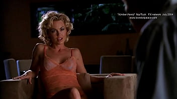 Hot Sex Scene!!!  Nip Tuck with Hot blond Kelly Carlson and Blonde Sex doll Nude!