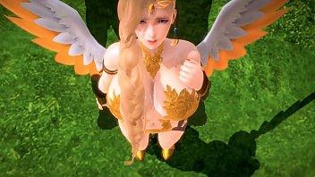 กาตูนโป๊ใหม่ นางฟ้าตกสวรรค์โดนเย็ดไม่ยั้ง 3D Hentai เจอดีเพราะควยมนุษย์โลก ทั้งใหญ่และยาวเย็ดหีแน่นๆ รับประกันได้เสียวหีสุดใจ