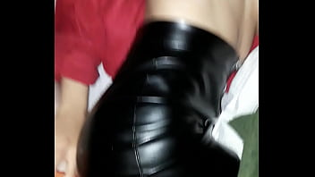 Mini skirt gang bang Leather mini skirt cogiendo esposa fuck wife