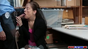 Bobby Dylan pays her debts for stealing by sucking cock