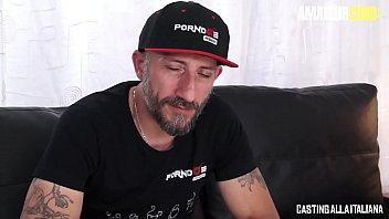 CASTING ALLA ITALIANA - #Isabella Clark - Hot Ass Russian MILF DP Sex With Two Italian Lovers 14 min