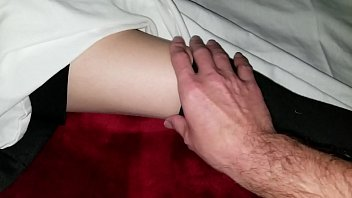 s. school girl virgin cousin gets fingered for the first time
