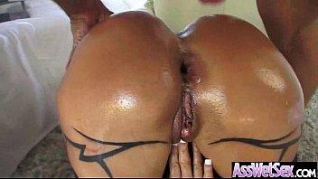 Anal Deep Hardcore Sex With Big Round Oiled Butt Slut Girl (jewels jade) vid-14