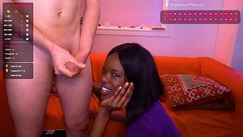 Deepthroating Black Girl....