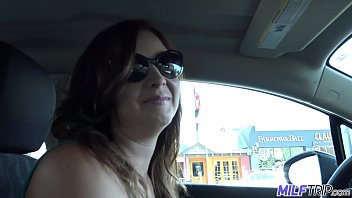 MILFTRIP Busty MILF Lyft Driver Alice Chambers Convinced To Fuck thumbnail