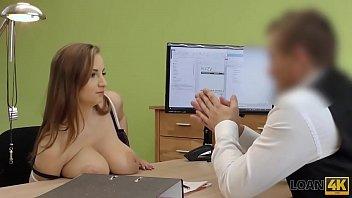 LOAN4K. Big-tittied Suzie Sun knows how to earn good