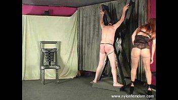 Femdom group discipline - Goddess punishes