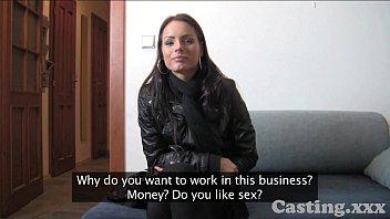Casting HD Shy student has silk vagina 11 min