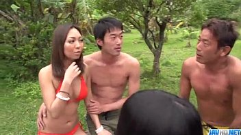 Lustful group sex experience for nasty Airi Minami