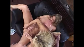 Nasty blonde housewife with big bazookas Kayla Quinn is not against to get into the spirit of Sapphic games in &quot_Pussy Playhouse&quot_ society together with another hottie Monica Mayhem