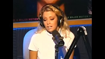 21 year old porn star Jenna Jameson strips for Howard Stern