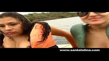Porno con Latinas en una fiesta salvaje