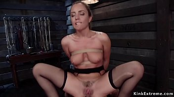Trainee anal gangbang fucked in dungeon