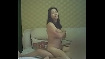Chinese affair, doggy style and cum inside
