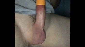 Stroking my own dick cock Me sucking cum out of my dick while using vacuum tube to fuck and suck till i cum