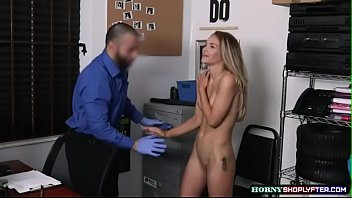 Guys strip searched - Scarlett didnt expect she can handle big cock