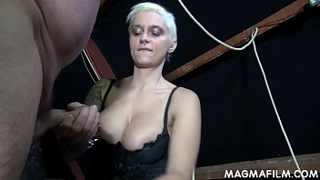 Paying to be spanked - Fetish mistress mila milan takes control of her weak boss