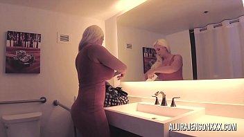 Big tit blonde Alura Jenson fucking a nervous client 12 min