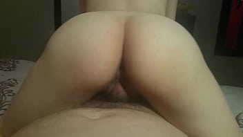 20 yr old Mexican blonde  great ass. fucks  fat guy