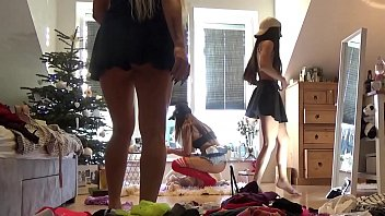 No Panties Teens Party Voyeur