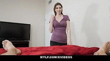 Mylf - Horny Pale Mom (Angelina Diamanti) Helps You Jerk Off