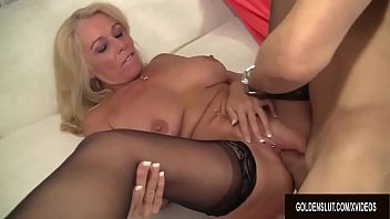 Image: Busty Blonde GILF Crystal Taylor Gets Fucked to Perfection