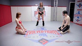 Alexa Nova Ass Fucked In Mixed Wrestling Fight
