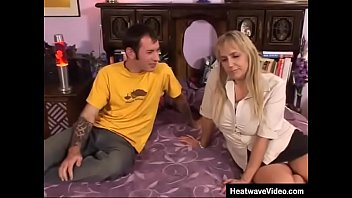Stepmom has got great boobs and it's no wonder that her stepson wants a fuck her ass
