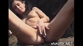 Cutie Jody fingers her clam until she has a orgasm