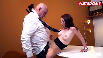 LETSDOEIT - German Teen Secretary Lia Louise Fucks With Her Dirty Boss