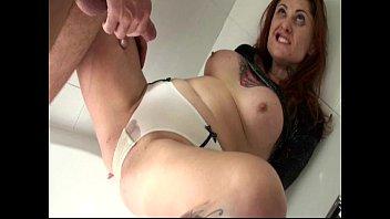 Butthole banging anal sex slamming soaking wet piss panties cock slut whore