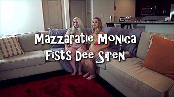 Mazzaratie Monica Fists Dee Siren 3 min