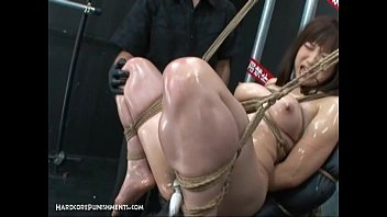 Intense Japanese Device Suspension Bondage Sex 5 min