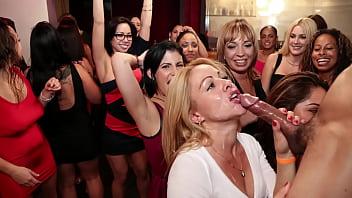 DANCING BEAR - Tiana Fine, Kimmy Lee, Tori Haze And More Enjoying Big Cocks Swinging All Over The Room