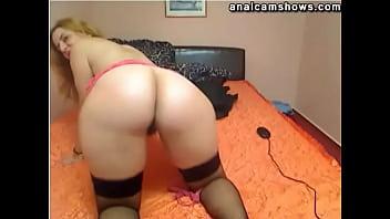 Latina BBW spanking ass