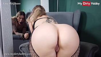 Submissive Babe (Lara Bergmann) Gives A Nice Blowjob - MyDirtyHobby