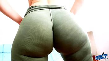 Fat ass naked booty - Huge hypnotic bubble butt tiny waist and fat cameltoe latina