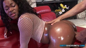 Dark asian sesame oil Roundass ebony twerker drilled and jizzed