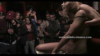 Public club hosts extreme group sex