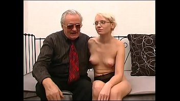 Old pig introduce a mature blonde who's about to get fucked