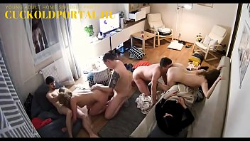 Young Adult HOMEMADE Swinger Party